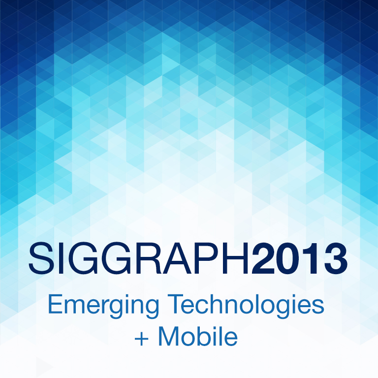 SIGGRAPH 2013 E-Tech | Mobile: Arabic